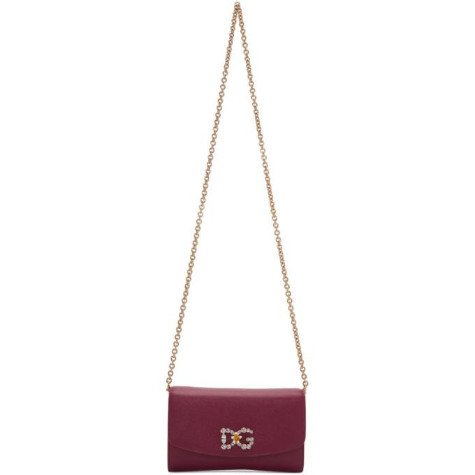 Photo: Dolce and Gabbana Pink DG Mini Bag