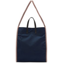 3.1 Phillip Lim Navy and Multicolor Henry Tote