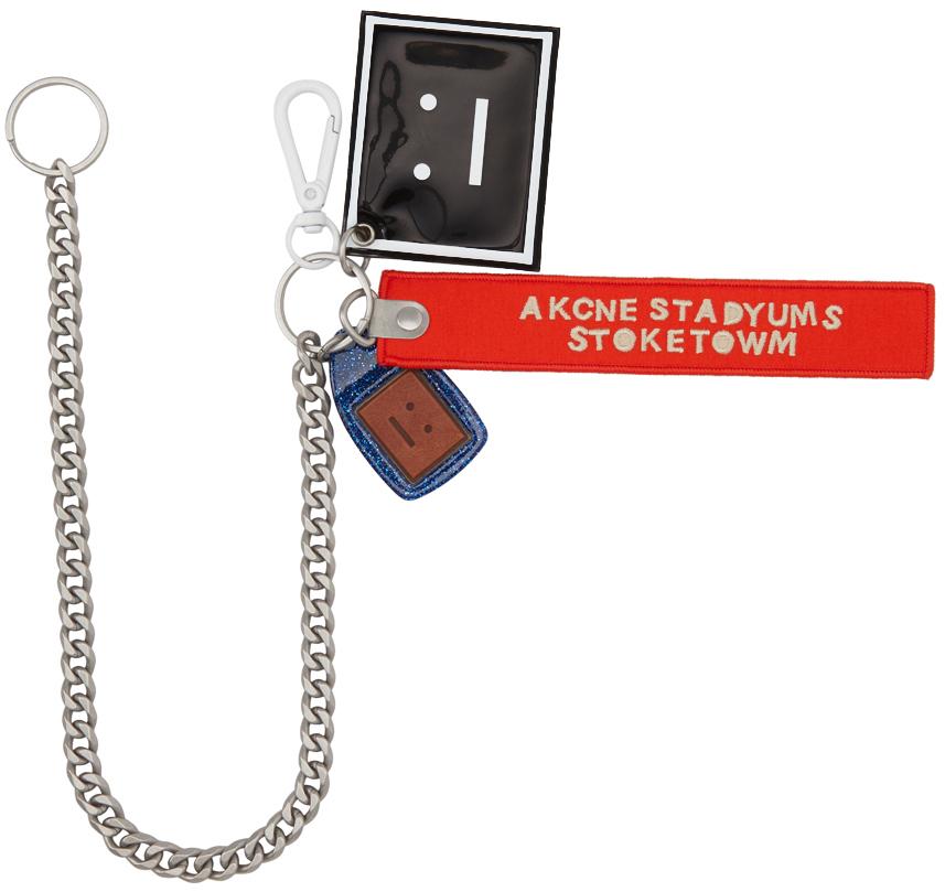 Photo: Acne Studios Orange Akaroa Face Keychain