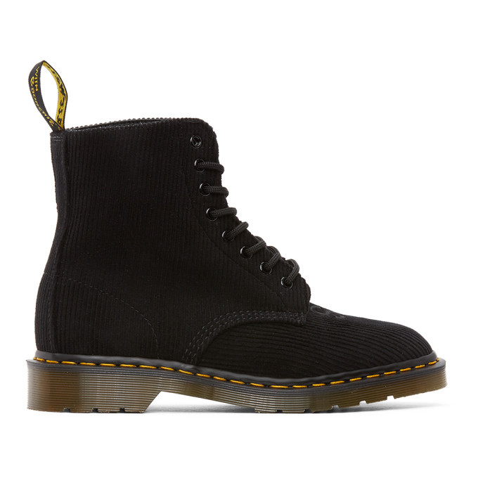 Photo: Undercover Black Dr. Martens Edition Corduroy 1460 Boots