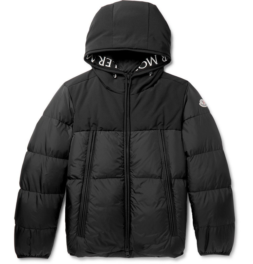 Photo: Moncler - Montclar Quilted Shell Hooded Down Jacket - Black