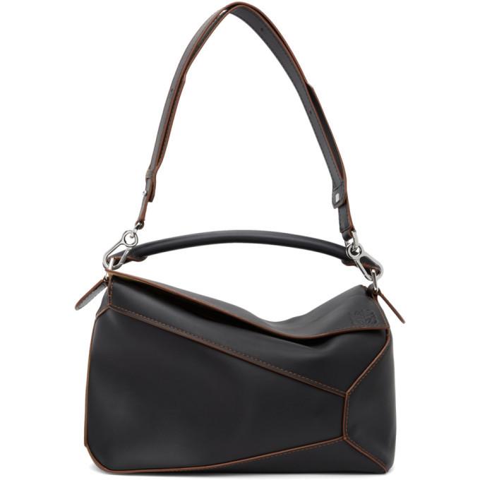 Photo: Loewe Black Large Puzzle Bag