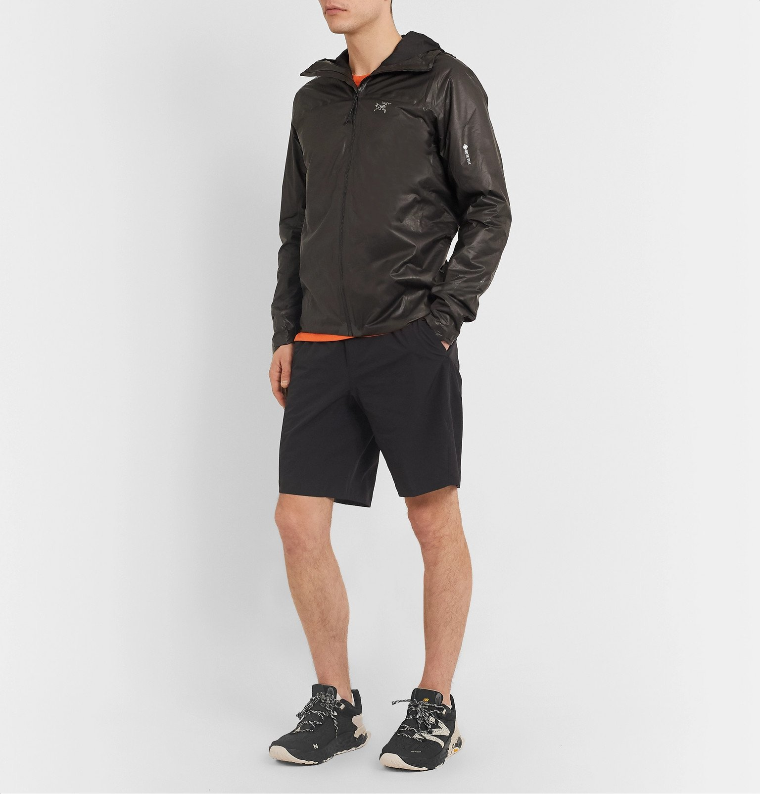 New Balance - Trail Heirro V5 Rubber-Trimmed Mesh Running Sneakers - Black