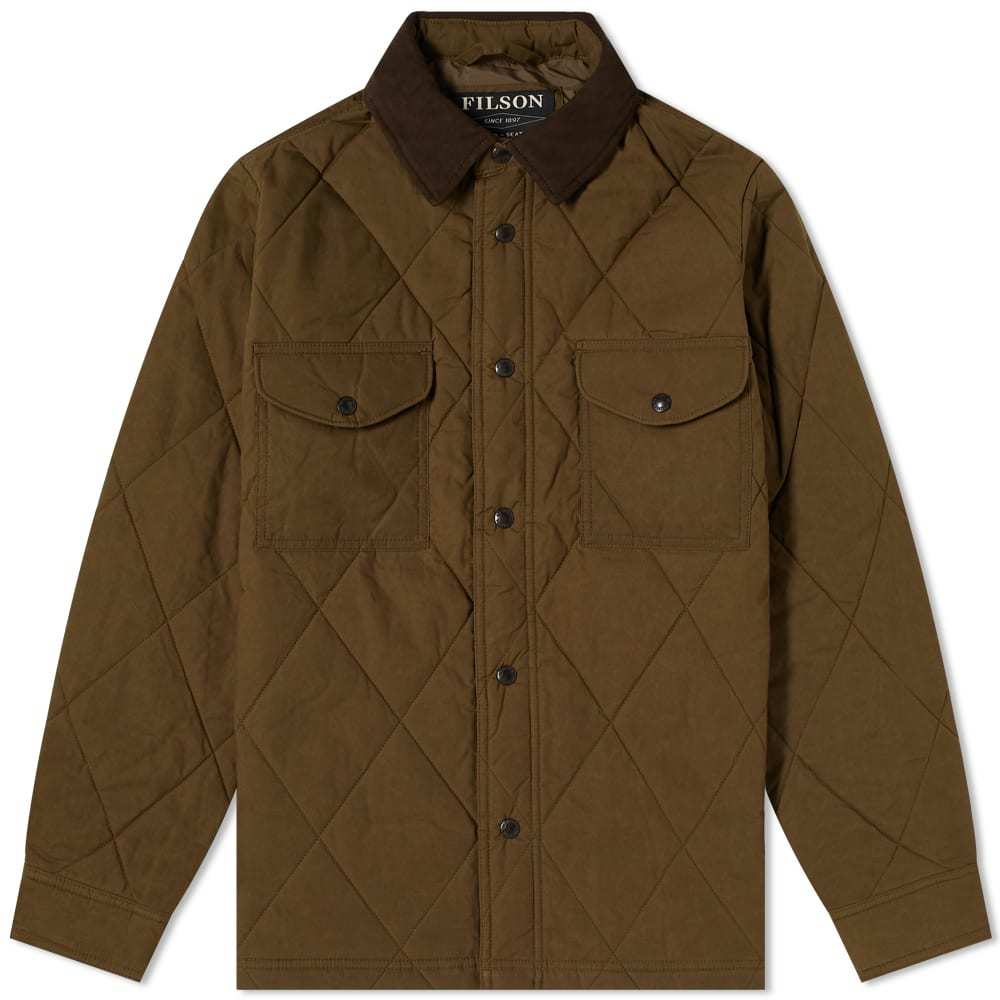 Photo: Filson Quilted Shirt Jacket