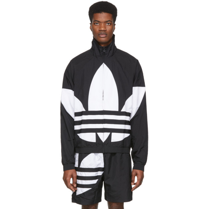 Photo: adidas Originals Black Big Trefoil Track Jacket