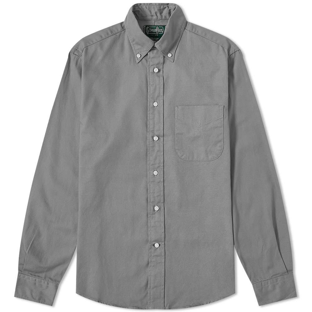 Photo: Gitman Vintage Button Down Overdyed Oxford Shirt