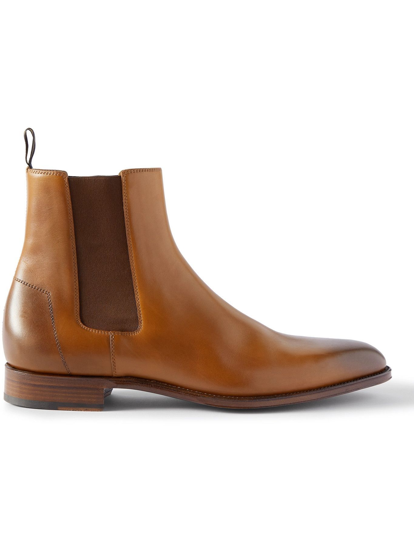 Photo: Dunhill - Kensington Leather Chelsea Boots - Brown