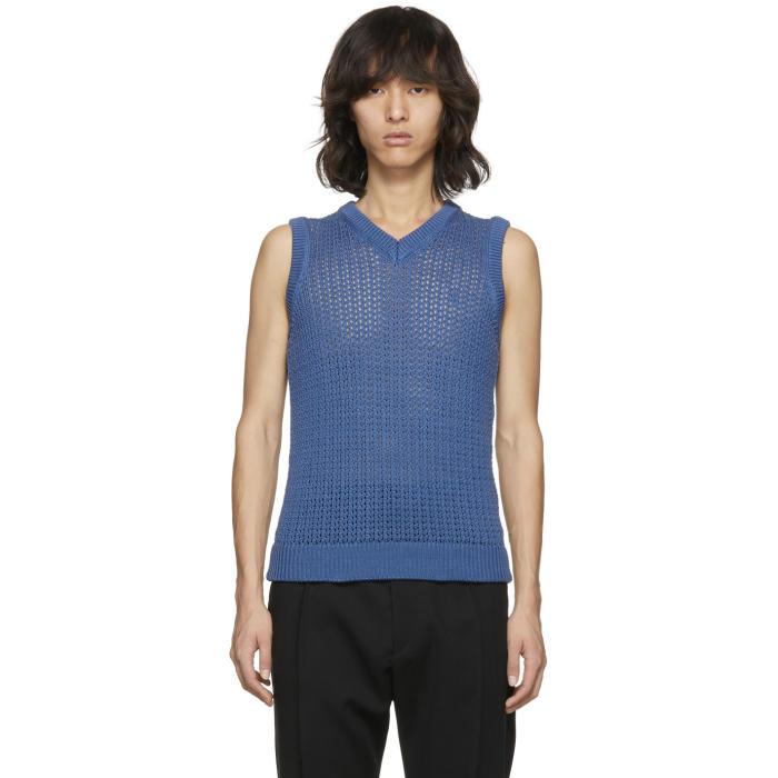 Photo: Acne Studios Blue Nuruy Sweater Vest
