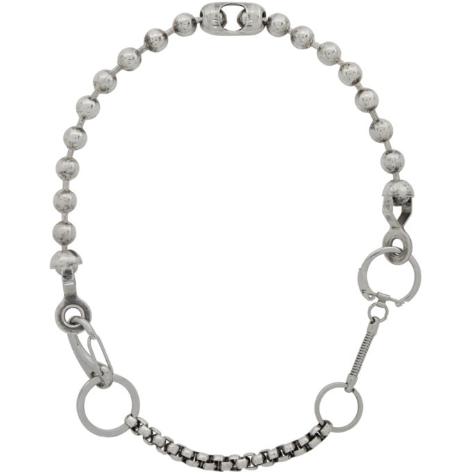 Photo: Martine Ali Silver Nathan Boxer Necklace