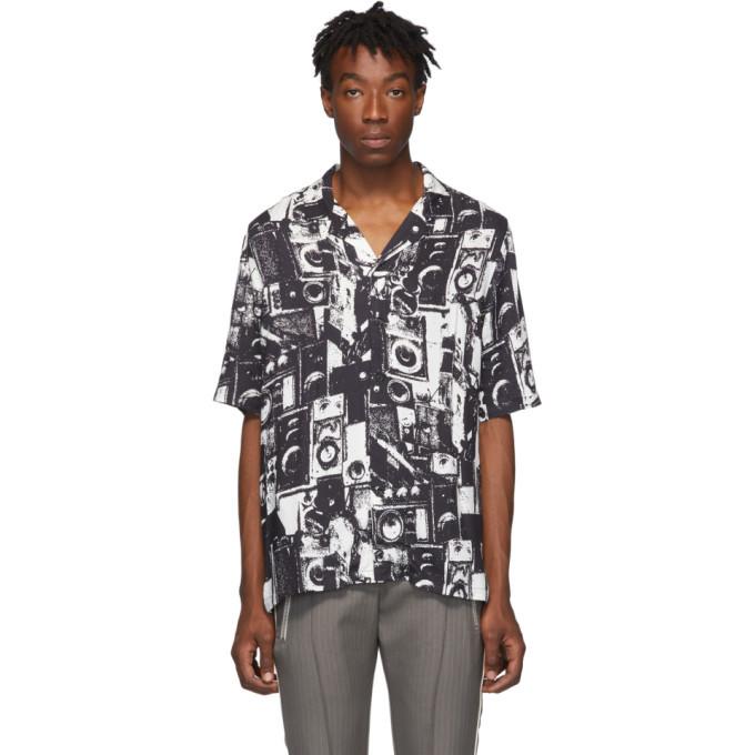 Ksubi Black Dub Machine Resort Shirt