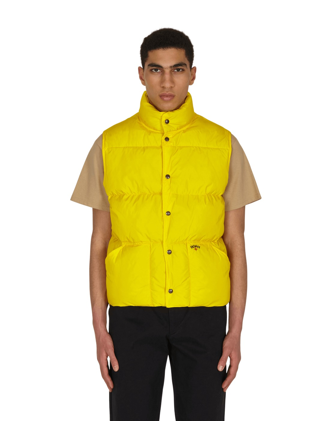 Photo: Noah Puffer Vest Yellow