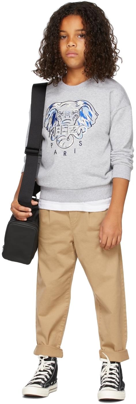 Photo: Kenzo Kids Elephant Logo Sweatshirt