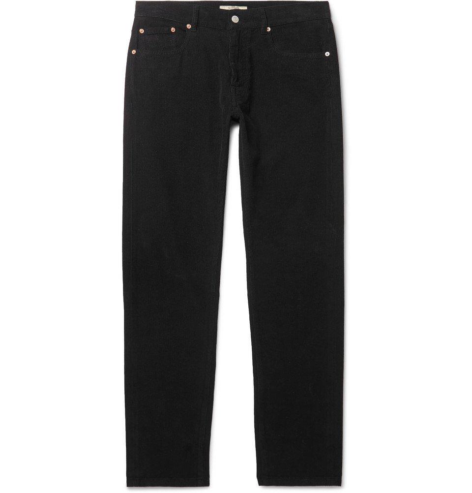 Belstaff - Longton Slim-Fit Cotton-Corduroy Trousers - Black