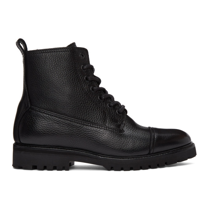 Photo: Belstaff Black Alperton Boots