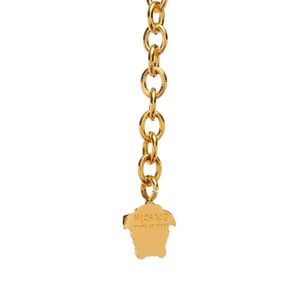 Versace Medusa Medallion & Necklace
