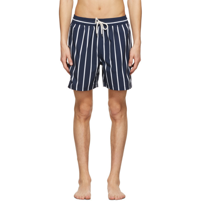 Photo: Polo Ralph Lauren Navy Recycled Printed Swimsuit