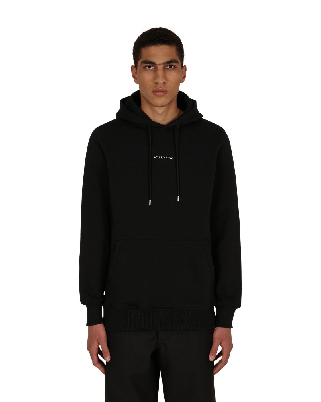 Photo: 1017 Alyx 9sm Visual Hooded Sweatshirt Black