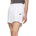 Asics White Club NS Shorts