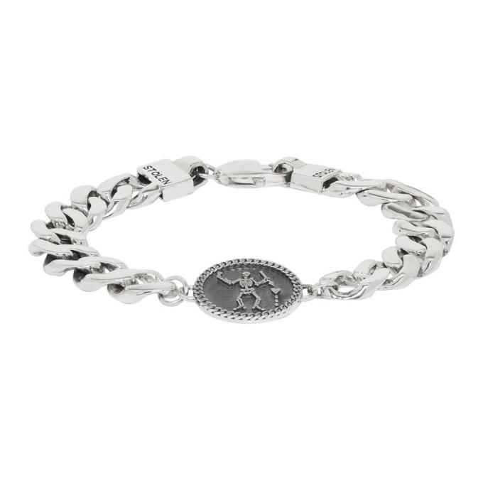 Photo: Stolen Girlfriends Club Silver Pirate Curb Bracelet