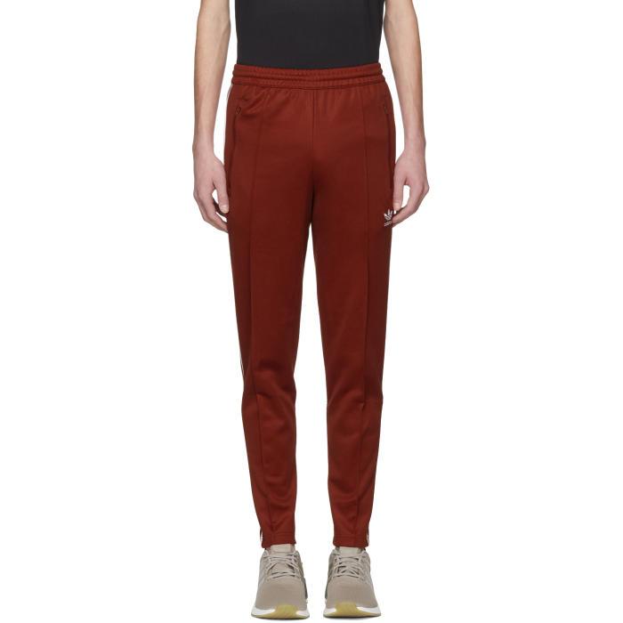 adidas Originals Red Franz Beckenbauer Track Pants