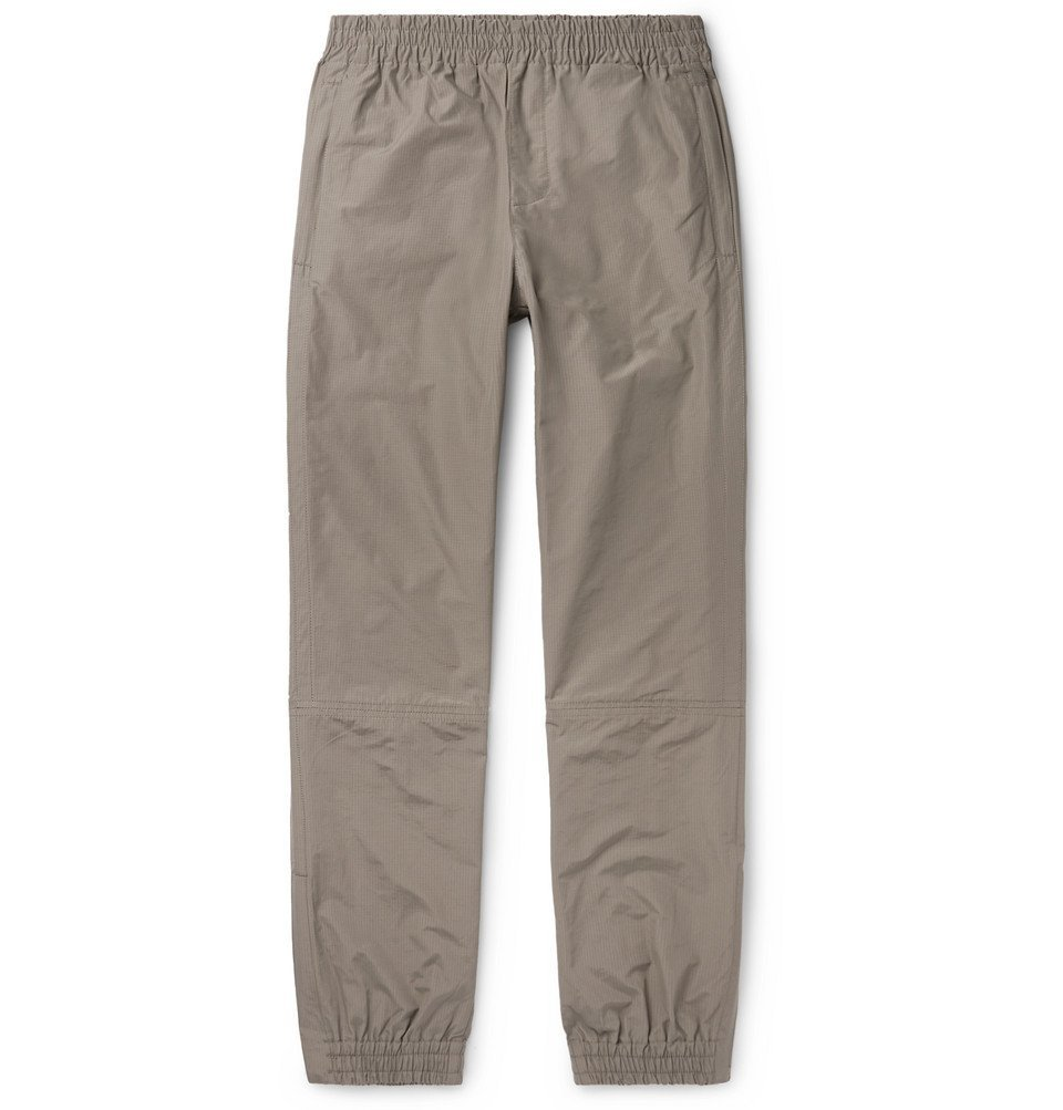 Photo: Très Bien - Cotton-Blend Ripstop Sweatpants - Neutral