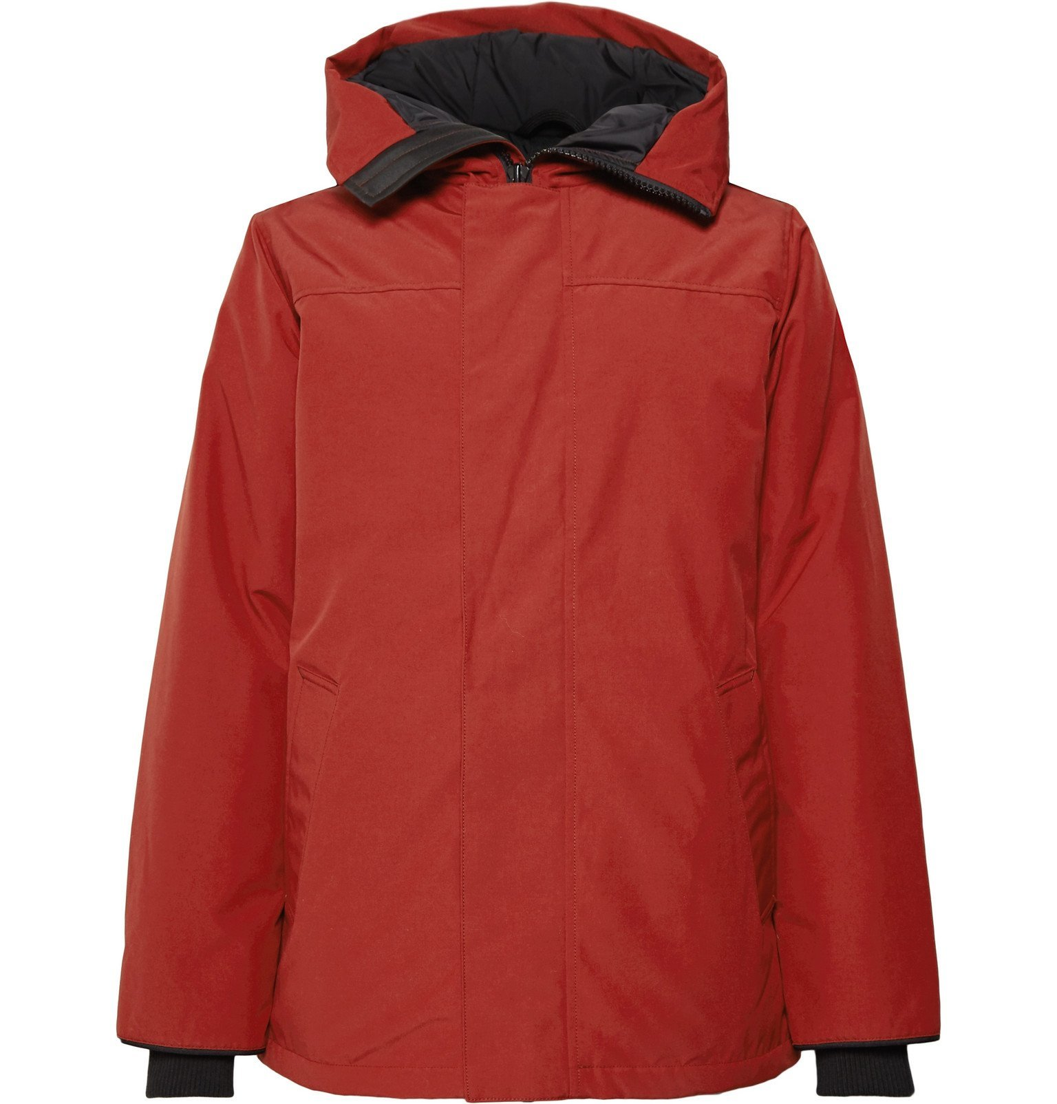 Photo: Canada Goose - Garibaldi Arctic Tech Hooded Down Parka with Removable Vereflex 15D Gilet - Red
