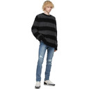 Ksubi Black and Grey Kingpin Sweater