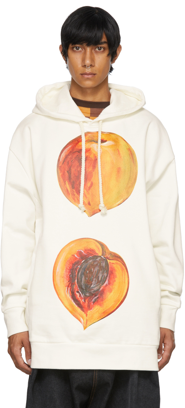 Photo: JW Anderson Off-White Oversized Peach Hoodie