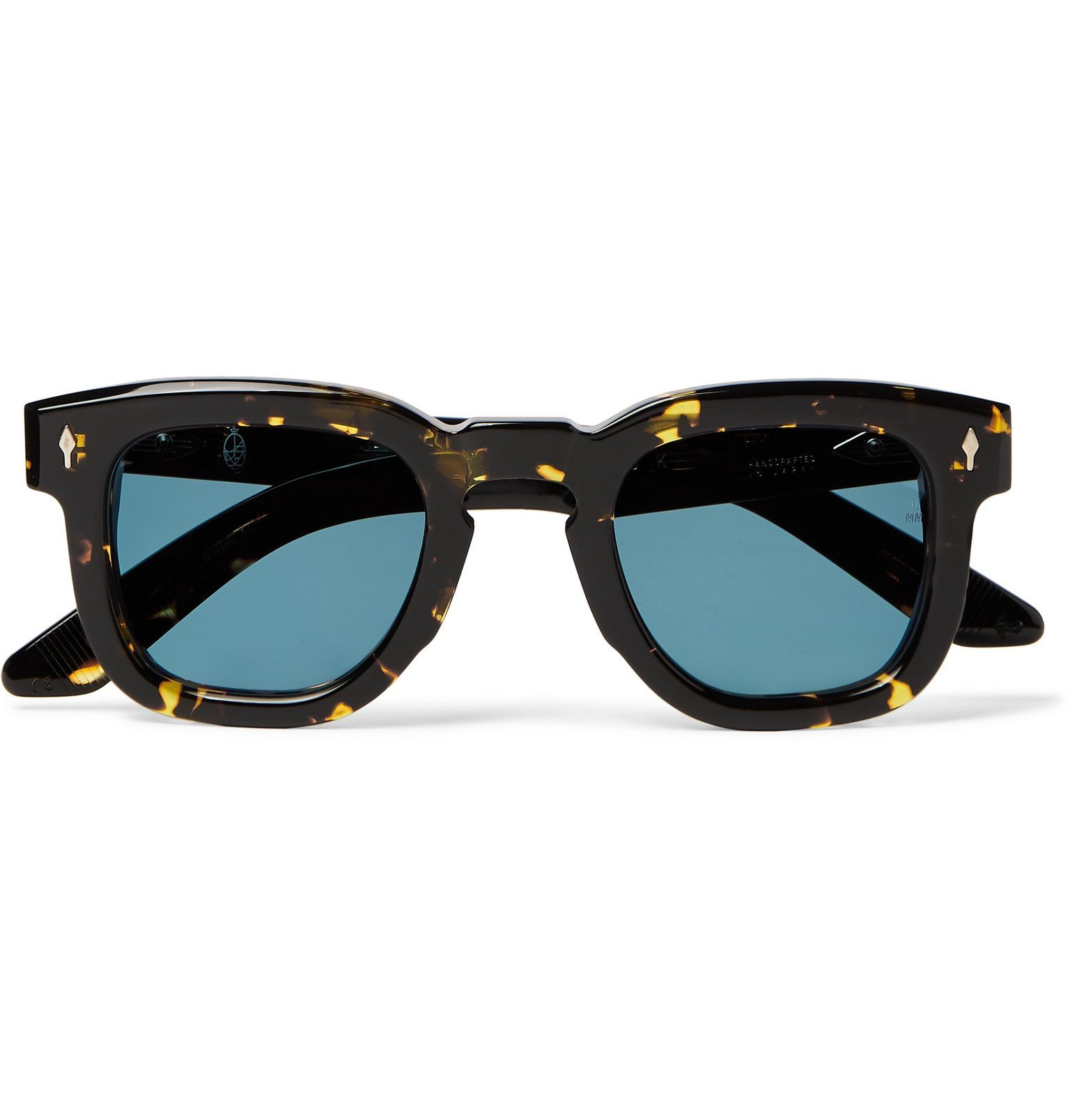 Photo: Jacques Marie Mage - Hickok Round-Frame Tortoiseshell Acetate Sunglasses - Brown