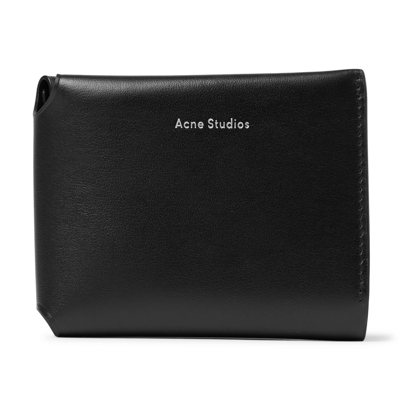 Acne Studios - Leather Trifold Wallet - Black