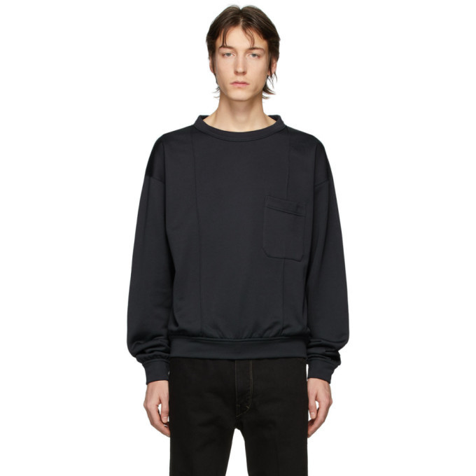 Photo: Lemaire Grey French Terry Sweatshirt