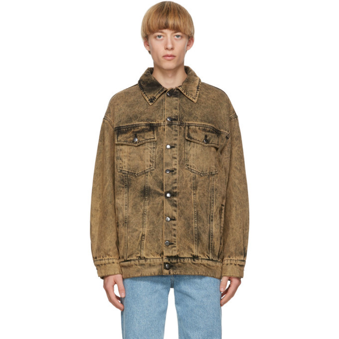Photo: Eckhaus Latta Khaki Denim Nouveau Jacket