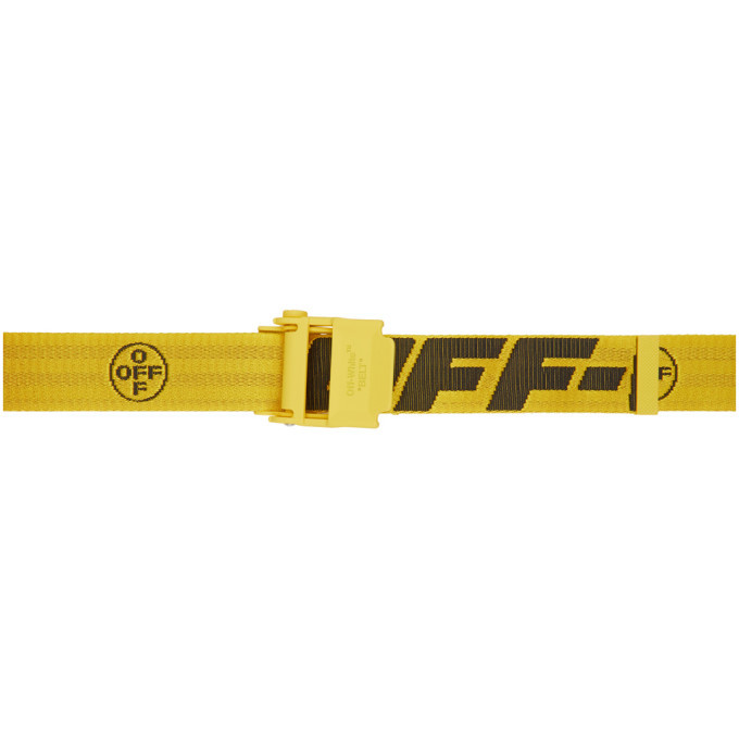 Photo: Off-White Yellow 2.0 Industrial Belt