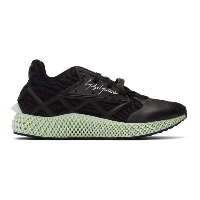 Photo: Y-3 Black Runner 4D Sneakers