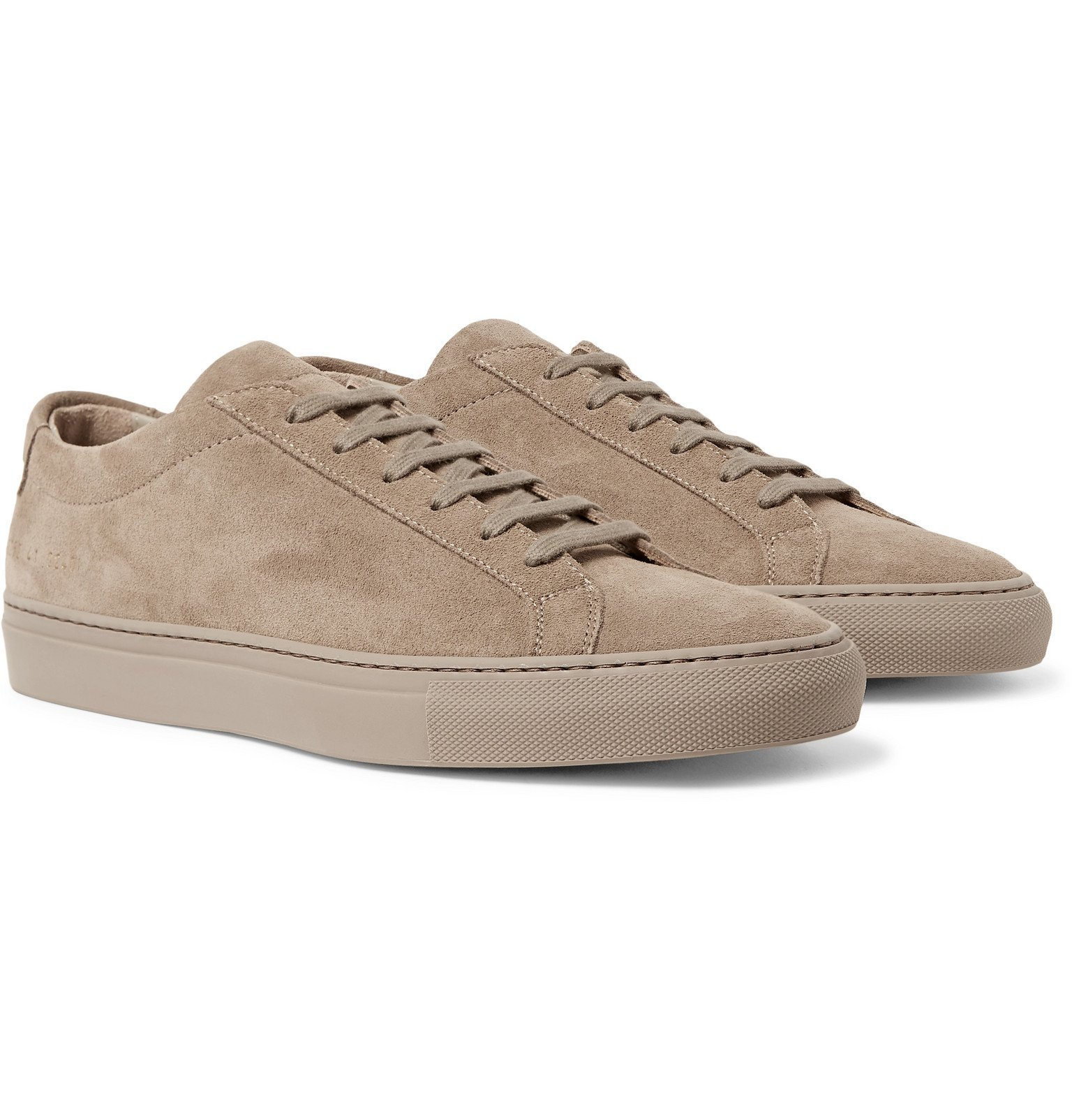 Common Projects - Original Achilles Suede Sneakers - Brown