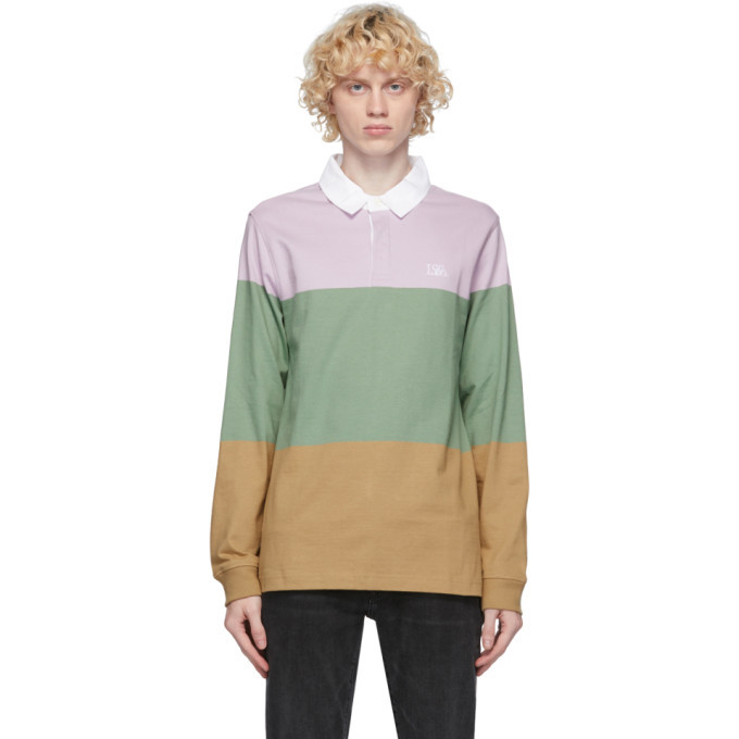 Photo: Levis Multicolor Rugby Long Sleeve Polo