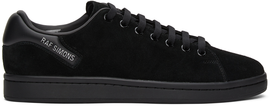Photo: Raf Simons Black Suede Orion Sneakers