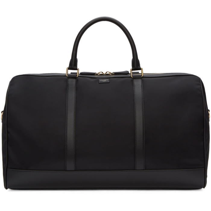 Photo: Dolce and Gabbana Black Nylon Duffle Bag