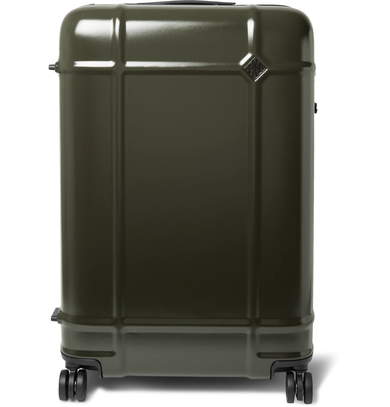 Photo: Fabbrica Pelletterie Milano - Globe Spinner 76cm Polycarbonate Suitcase - Green