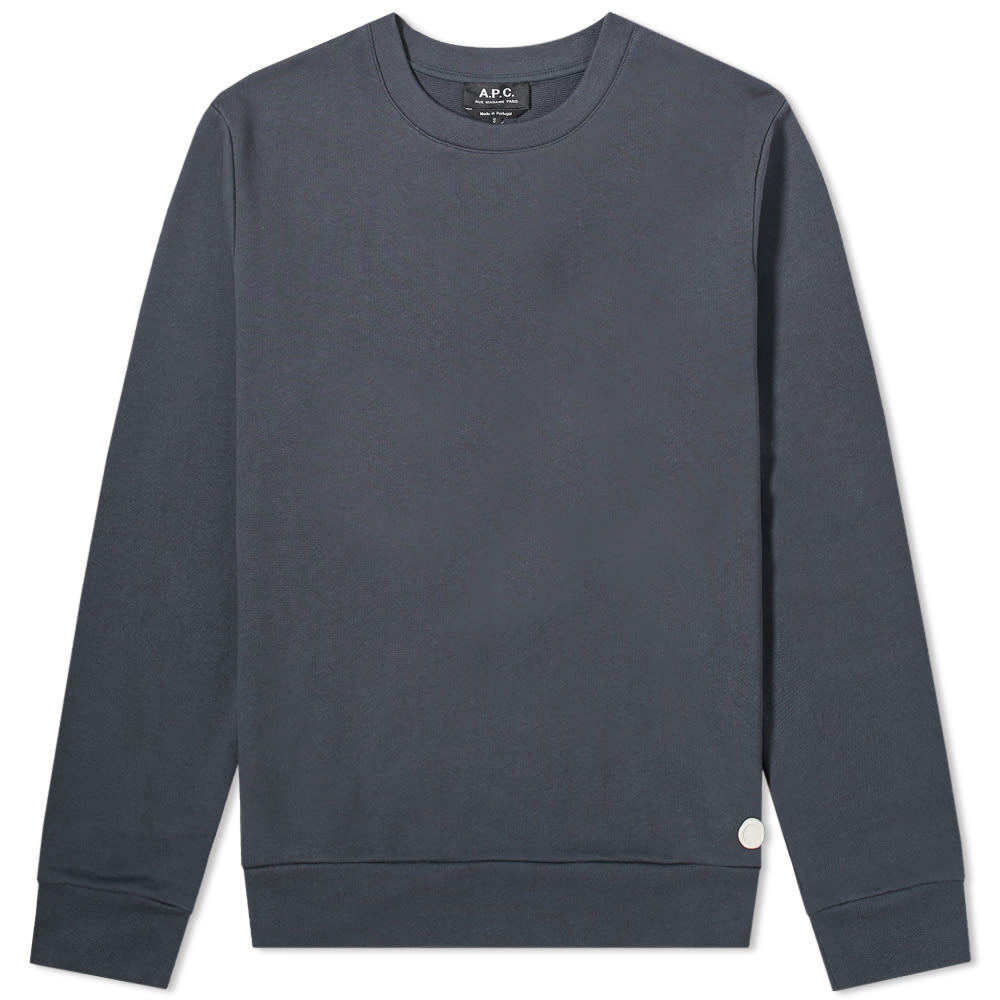Photo: A.P.C. Rubber Stamp Crew Sweat