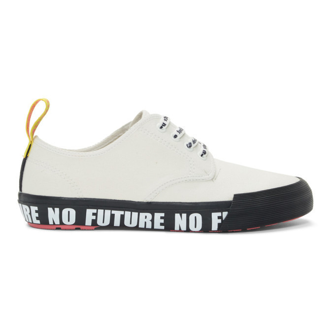 Photo: Dr. Martens White Sex Pistols Edition Pressler Sneakers
