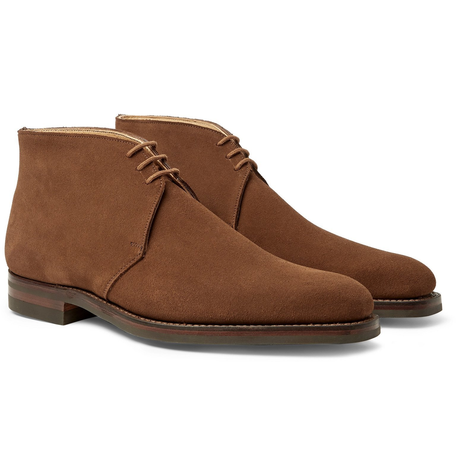 Photo: George Cleverley - Nathan Suede Chukka Boots - Brown