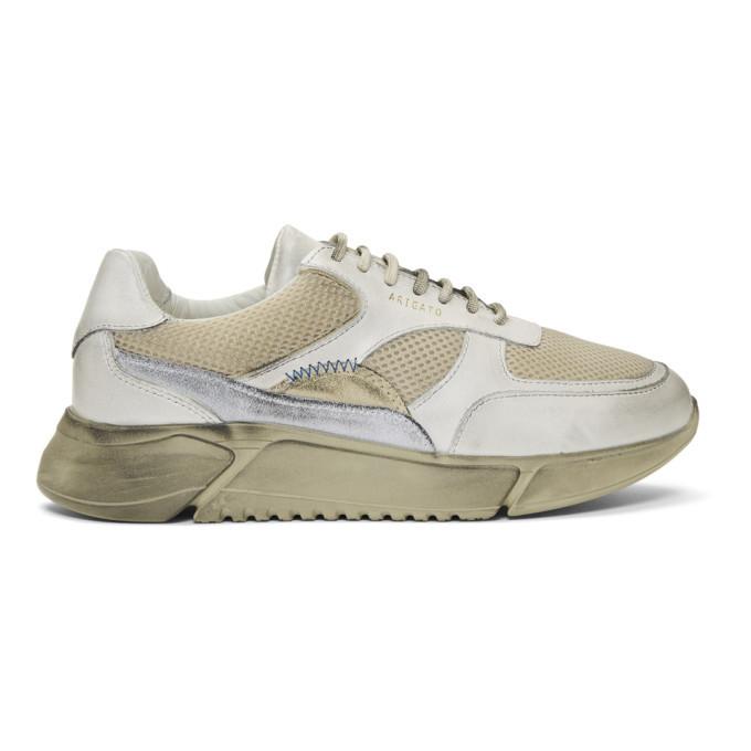Axel Arigato Beige Genesis Sneakers