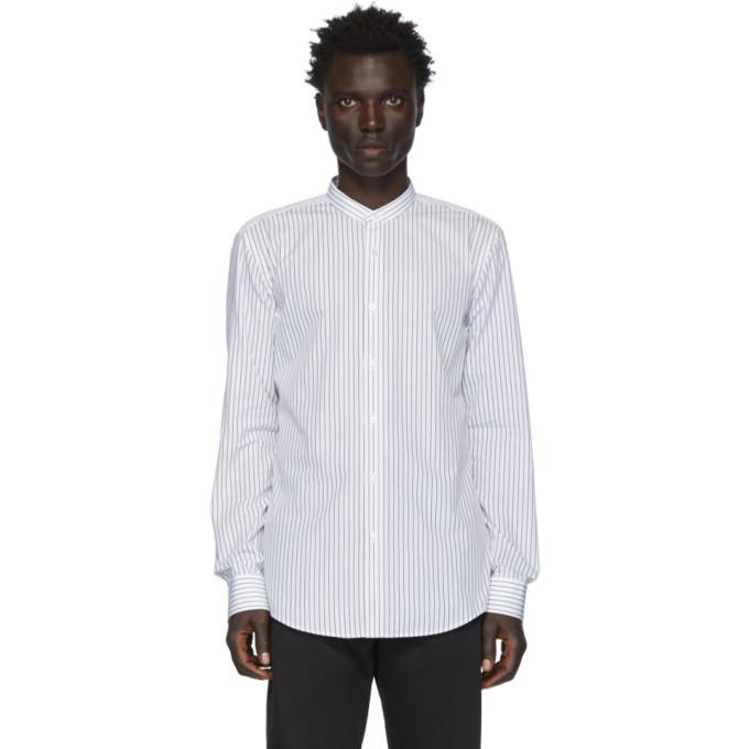 Photo: Boss White and Black Stripe Jordi Shirt