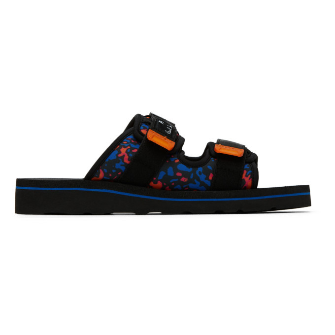 Photo: PS by Paul Smith Black Micah Sandals