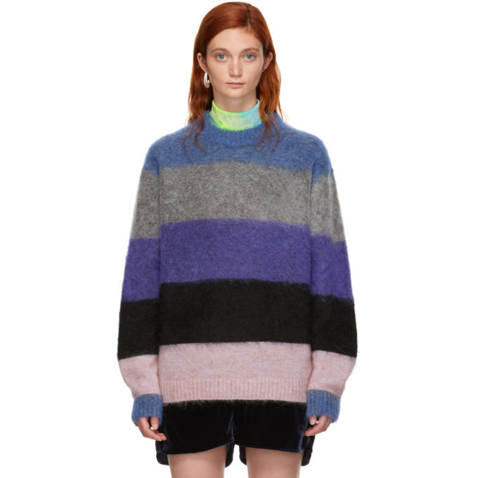 Acne Studios Multicolor Striped Albah Sweater