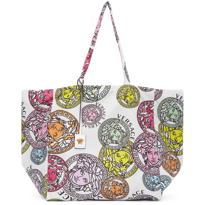 Photo: Versace White Medusa Amplified Tote