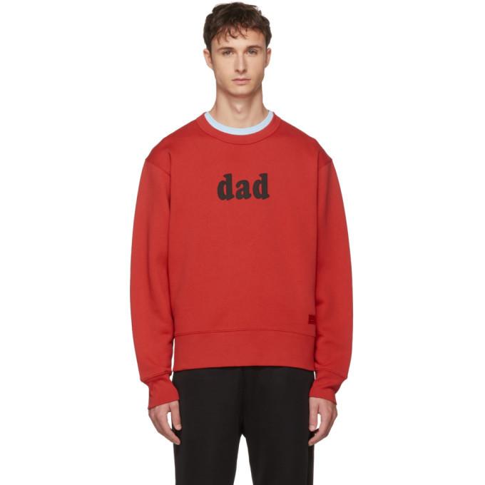Photo: Acne Studios Red Dad Sweatshirt