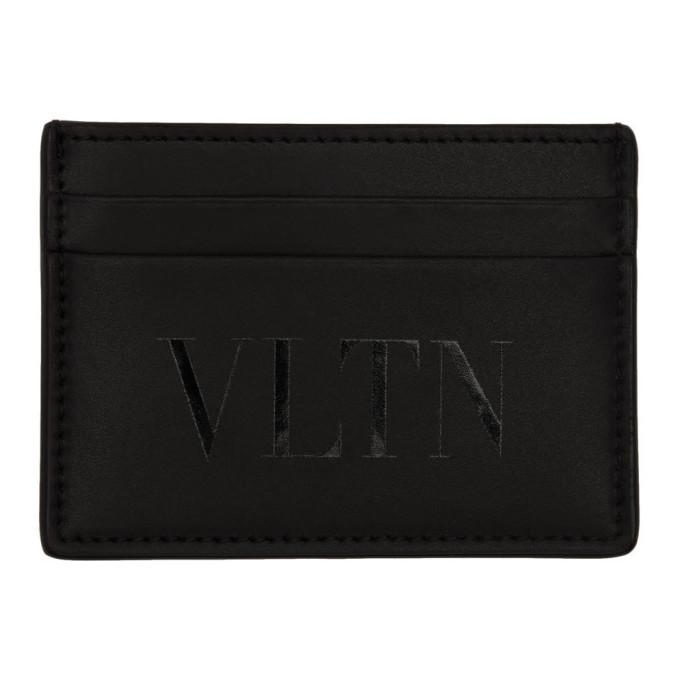 Photo: Valentino Black Valentino Garavani VLTN Card Holder