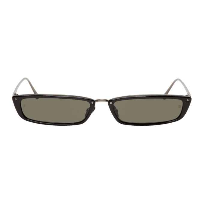Photo: Linda Farrow Luxe Black 838 C2 Sunglasses
